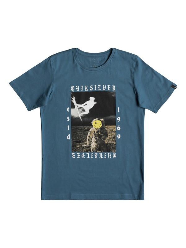 0 Classic Kelalani Nalu - T Shirt col rond Bleu EQBZT03678 Quiksilver