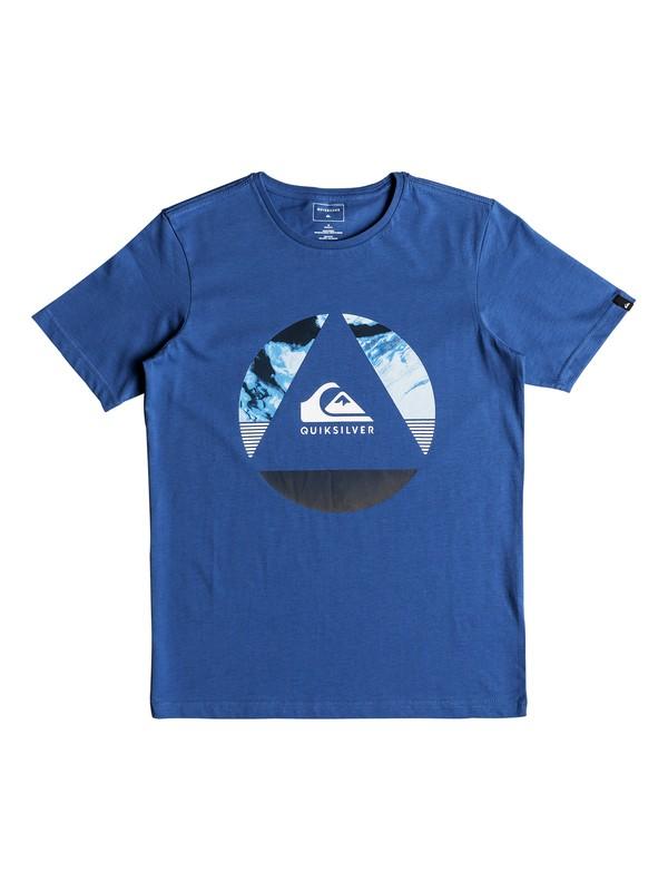 0 Classic Fluid Turns - T-shirt col rond Bleu EQBZT03680 Quiksilver