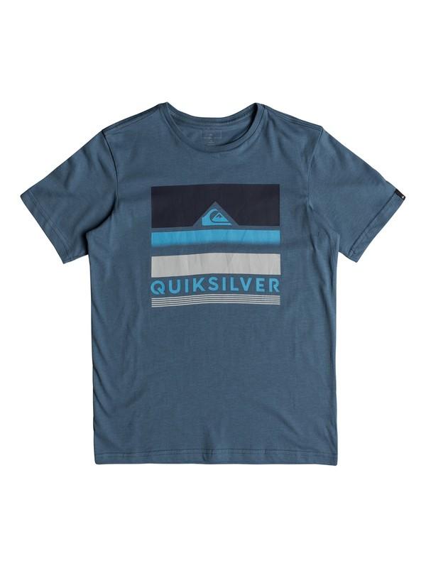 0 Classic Loud Places - T Shirt col rond Bleu EQBZT03681 Quiksilver