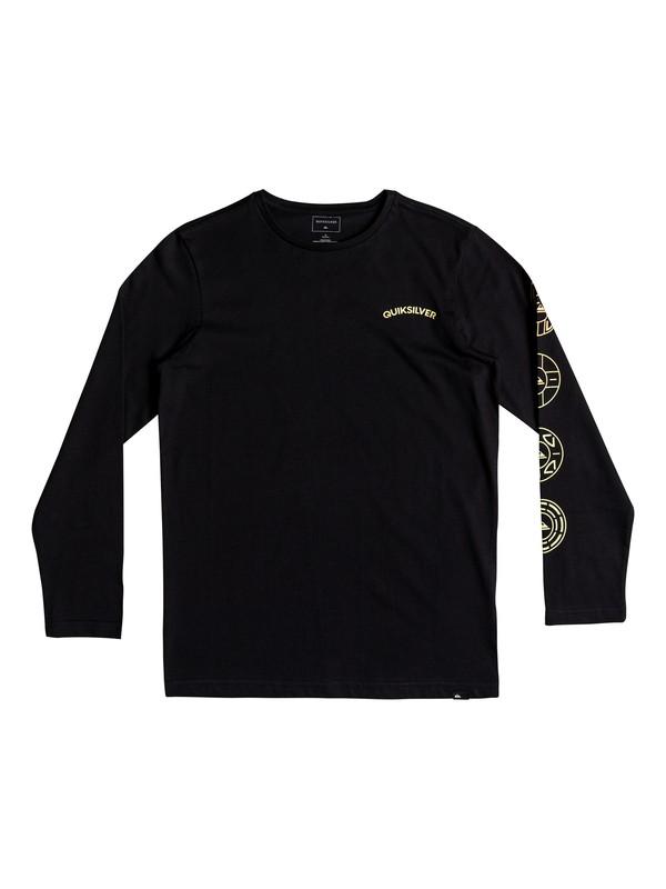 0 Classic Next Steps - T-shirt manches longues Noir EQBZT03686 Quiksilver