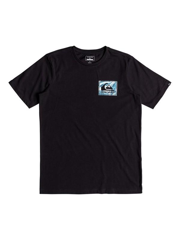 0 Volcano Blues - T-shirt de sport Noir EQBZT03698 Quiksilver