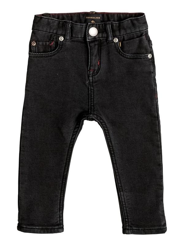 0 Distorsion Fleece Grey - Jean coupe slim  EQIDP03009 Quiksilver