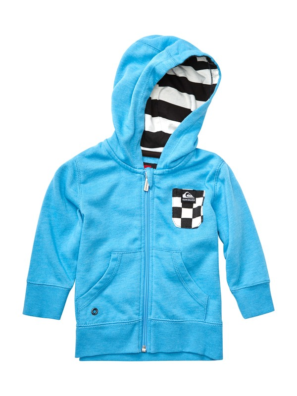 0 Baby Solana Checks Hooded Sweater  EQIFT00005 Quiksilver