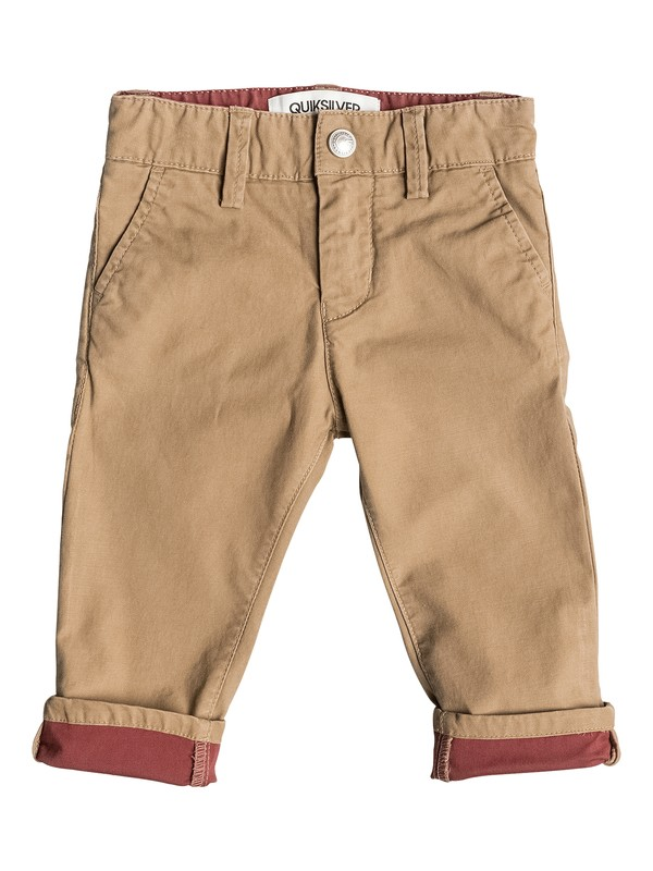 0 Krandy Block Slim - Pantalon chino  EQINP03013 Quiksilver