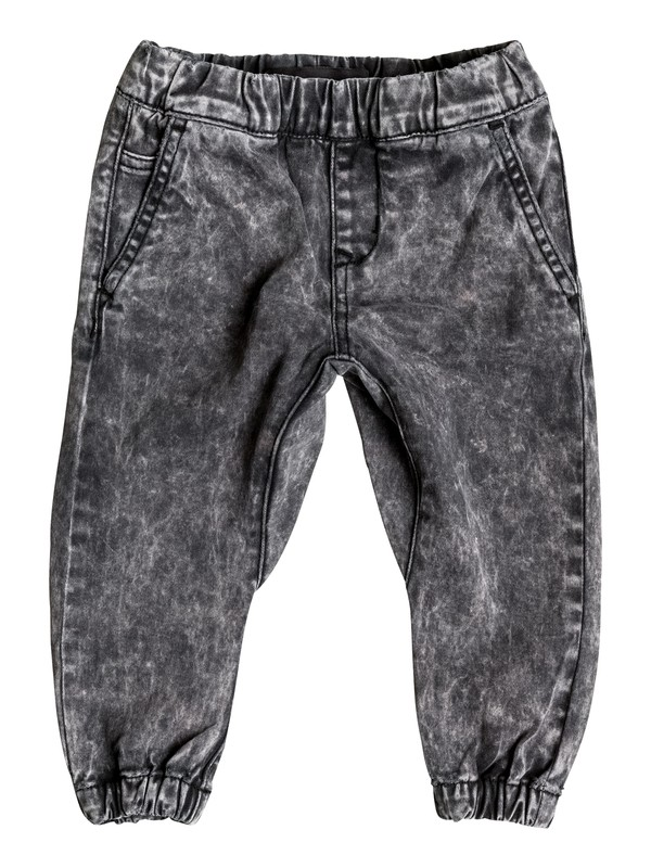 0 Outta My Way - Pantalon Molleton Effet Denim  EQINP03018 Quiksilver