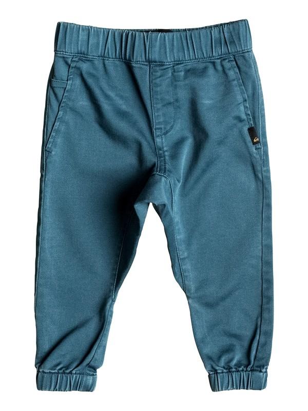 0 Fonic - Pantalon de jogging en sergé Bleu EQINP03020 Quiksilver