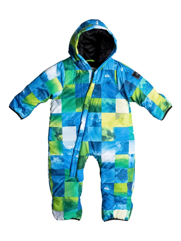 0 Little Rookie - Snow Suit Green EQITS03002 Quiksilver