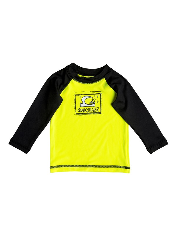 0 Baby Bubble Dream Long Sleeve Rashguard  EQIWR03007 Quiksilver