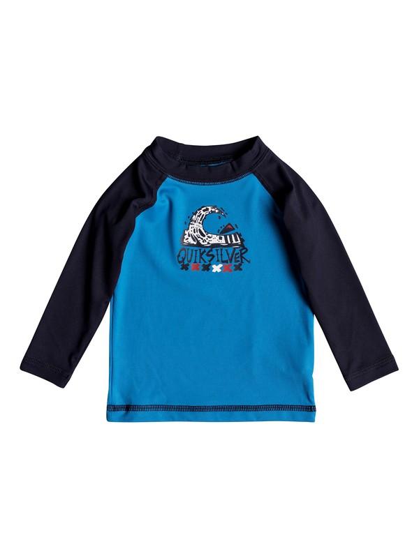 0 Bubble Dream - Lycra manches longues UPF50 Bleu EQIWR03013 Quiksilver