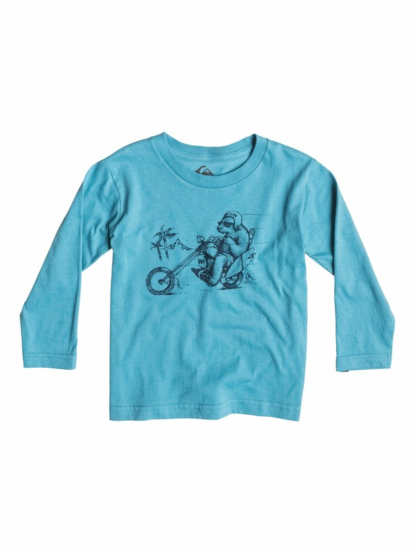 0 Organic Bear Chopper - T-shirt manches longues  EQIZT03008 Quiksilver
