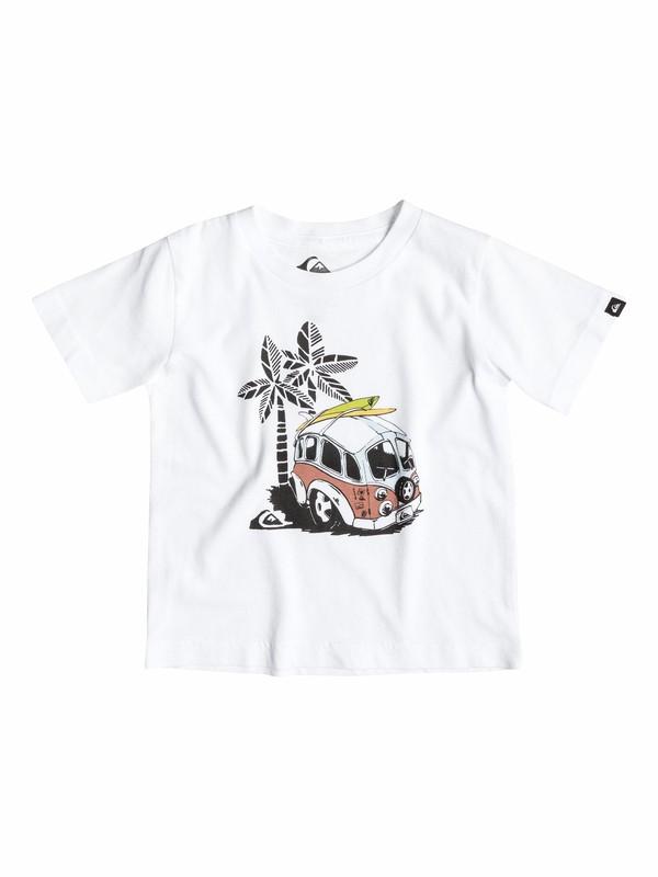 0 Organic Palm Combi - T-shirt  EQIZT03010 Quiksilver