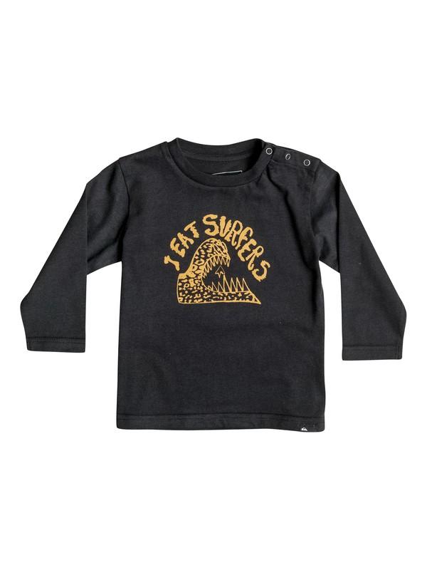 0 Carbon Eating - Tee-Shirt à manches longues Noir EQIZT03018 Quiksilver