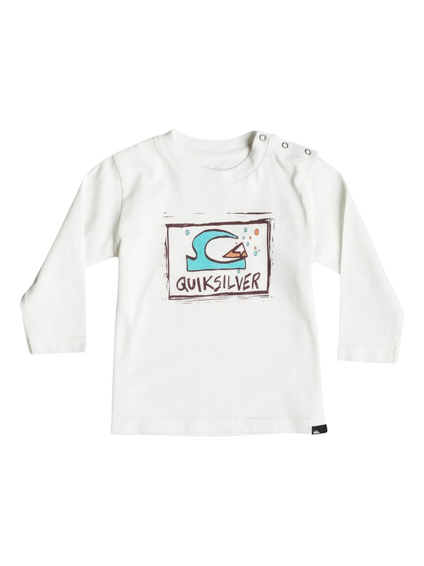 0 Carbon Bubble Dream - Tee-Shirt à manches longues Blanc EQIZT03021 Quiksilver