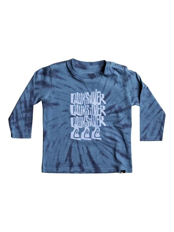 0 Tri Band - Tee-Shirt à manches longues Bleu EQIZT03028 Quiksilver