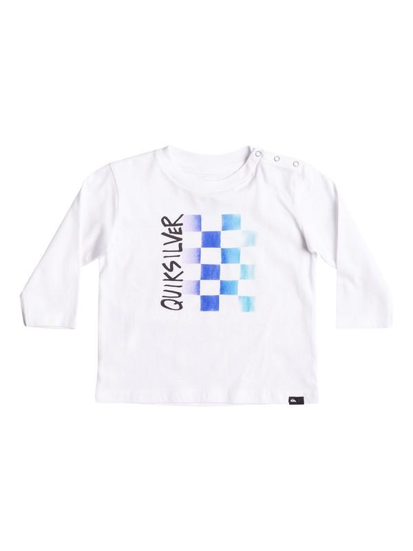 0 Double Check - Tee-Shirt à manches longues Blanc EQIZT03029 Quiksilver
