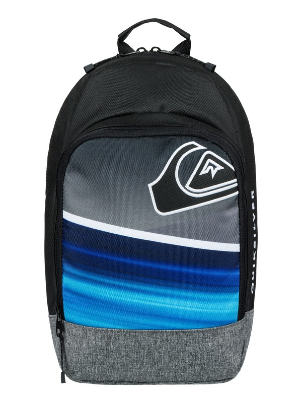 0 Boy's 2-7 Chompine 12L Small Backpack Blue EQKBP03005 Quiksilver