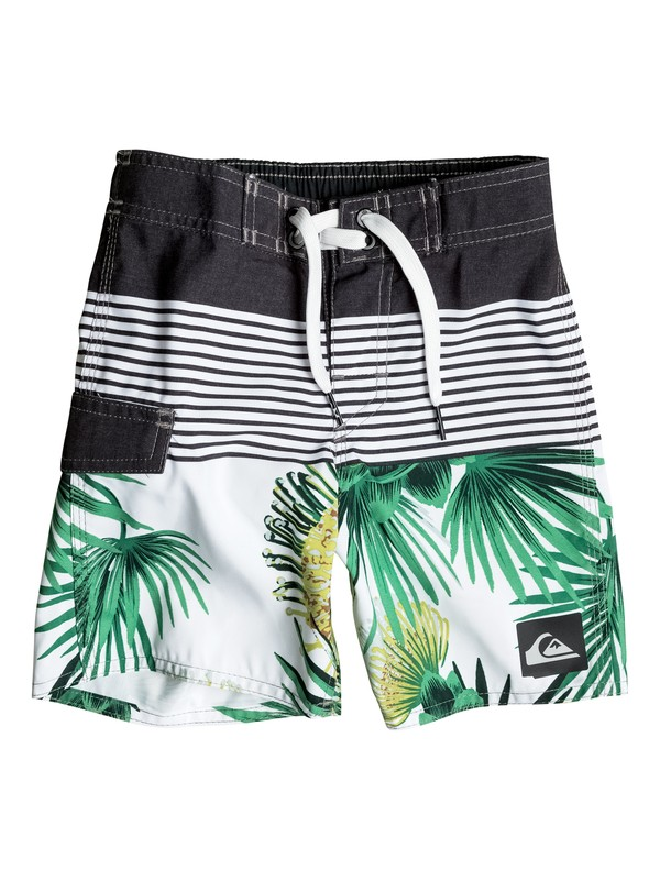 "0 Boy's 2-7 Division Remix 12"" Boardshorts  EQKBS03050 Quiksilver"