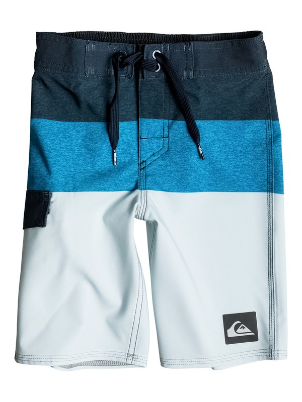 "0 Boy's 2-7 Everyday Blocked 14"" Boardshorts  EQKBS03056 Quiksilver"