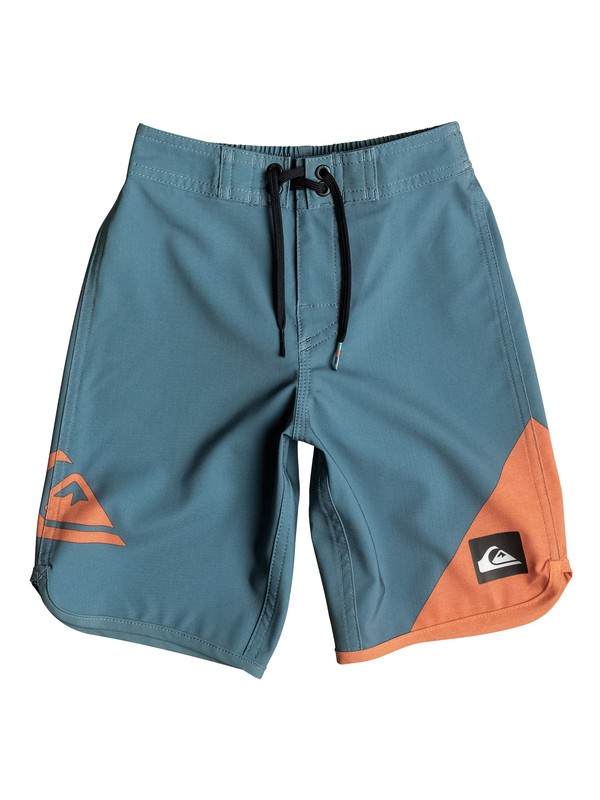 "0 Boy's 2-7 New Wave 14.5"" Boardshorts  EQKBS03070 Quiksilver"