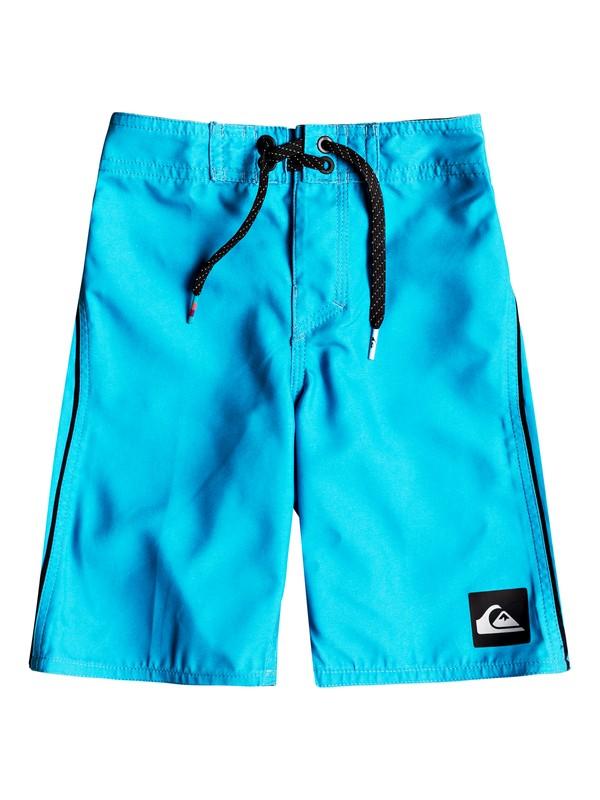 "0 Boys 2 - 7 Highline Kaimana 14"" Boardshorts Blue EQKBS03151 Quiksilver"