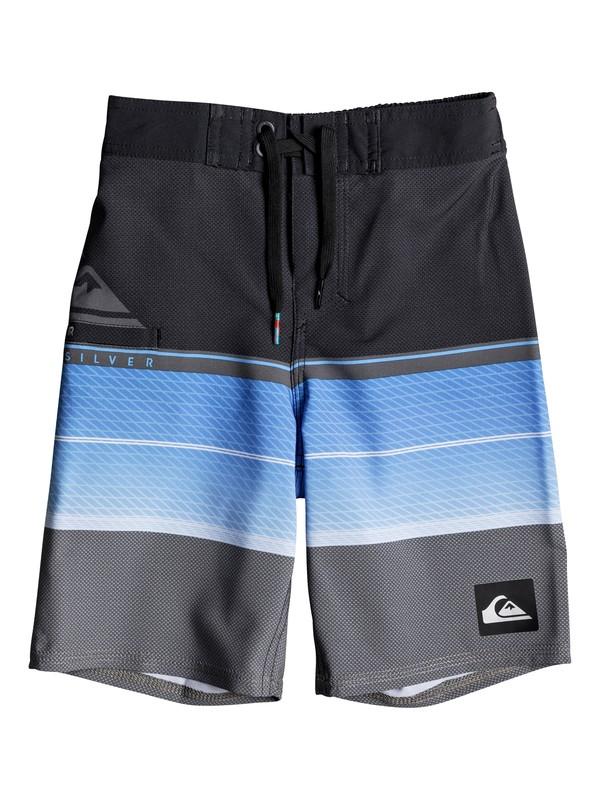 "0 Boys 2 - 7 Highline Slab 14"" Boardshorts Blue EQKBS03152 Quiksilver"