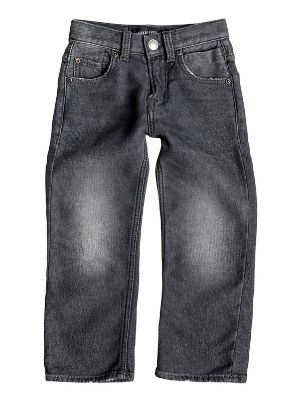 0 Sequel Grey Damaged - Jean regular Gris EQKDP03046 Quiksilver