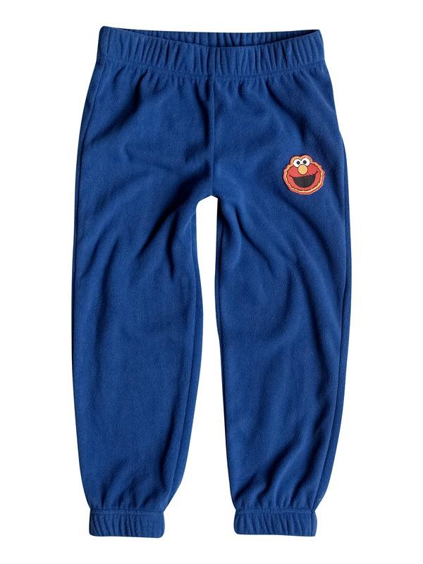 0 Aker - Pantalon de jogging en polaire Bleu EQKFB03025 Quiksilver