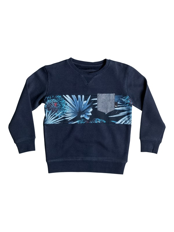 0 Boy's 2-7 Strange Night Pullover Sweatshirt  EQKFT03157 Quiksilver