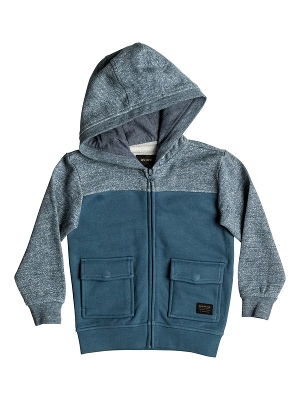 0 Civil Aire - Sweat à capuche zippé  EQKFT03195 Quiksilver