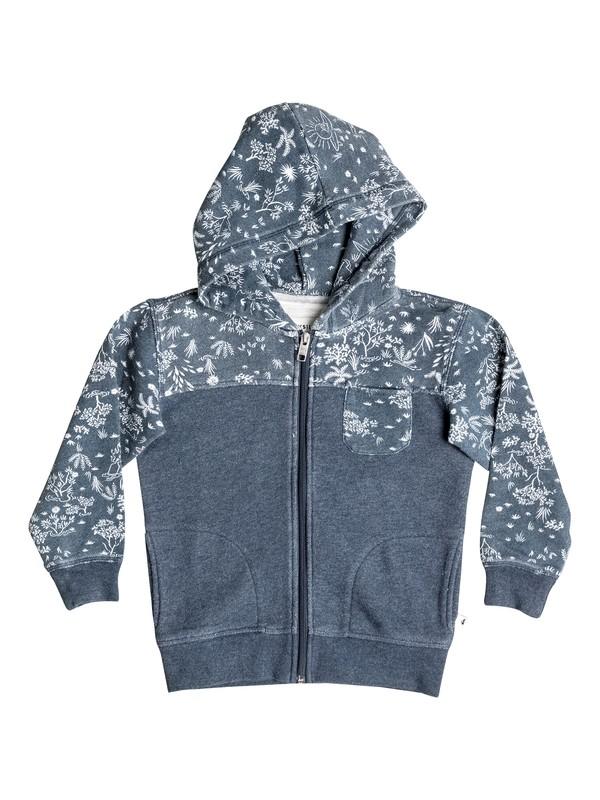 0 Cyclops - Sweat à capuche zippé Bleu EQKFT03198 Quiksilver