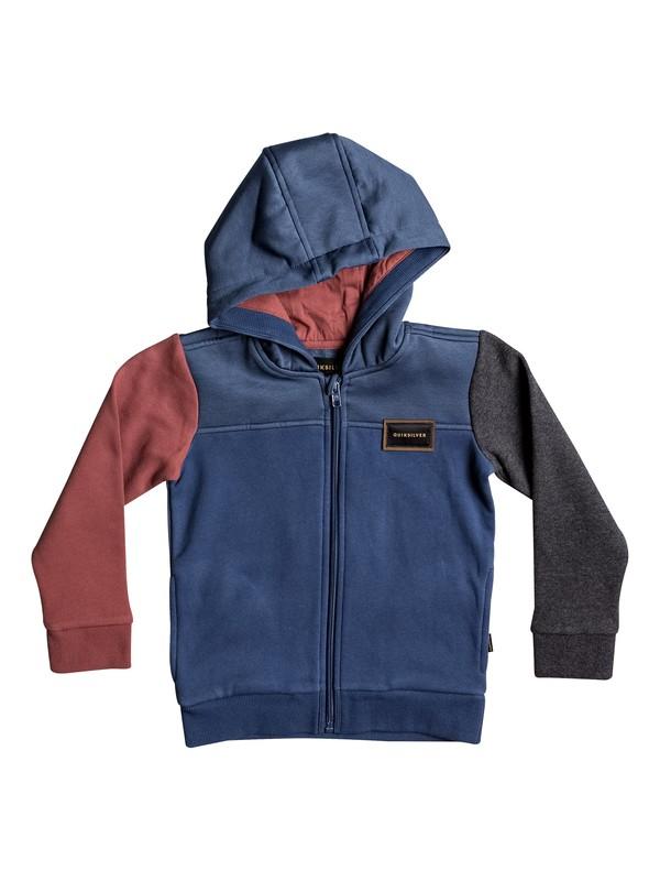 0 Thazi - Zip-Up Hoodie Blue EQKFT03214 Quiksilver