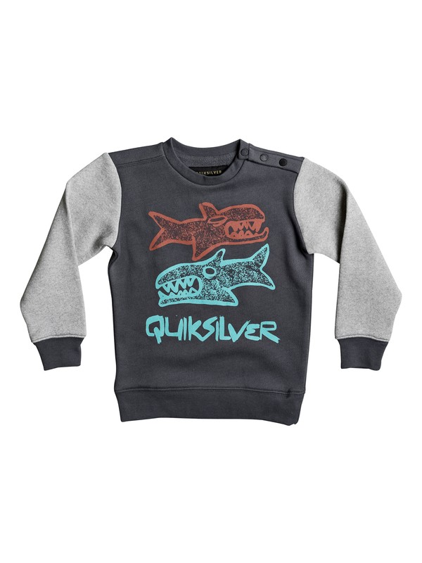0 Свитшот Double Sharks Черный EQKFT03216 Quiksilver