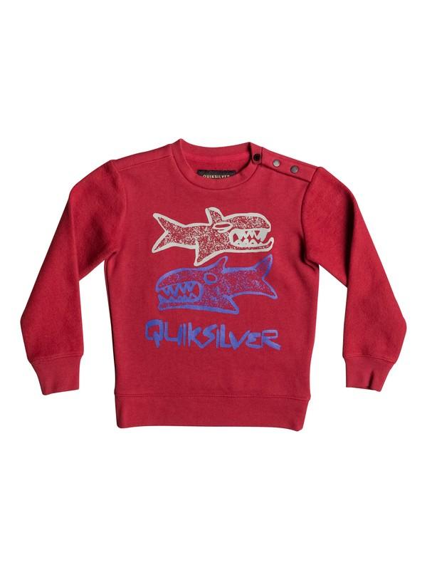0 Свитшот Double Sharks Красный EQKFT03216 Quiksilver