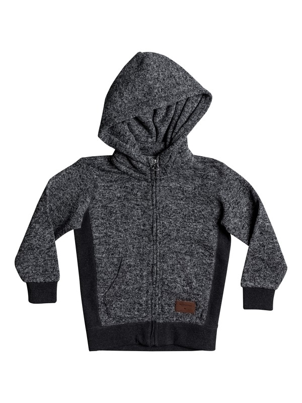0 Keller - Zip-Up Hoodie Black EQKFT03225 Quiksilver