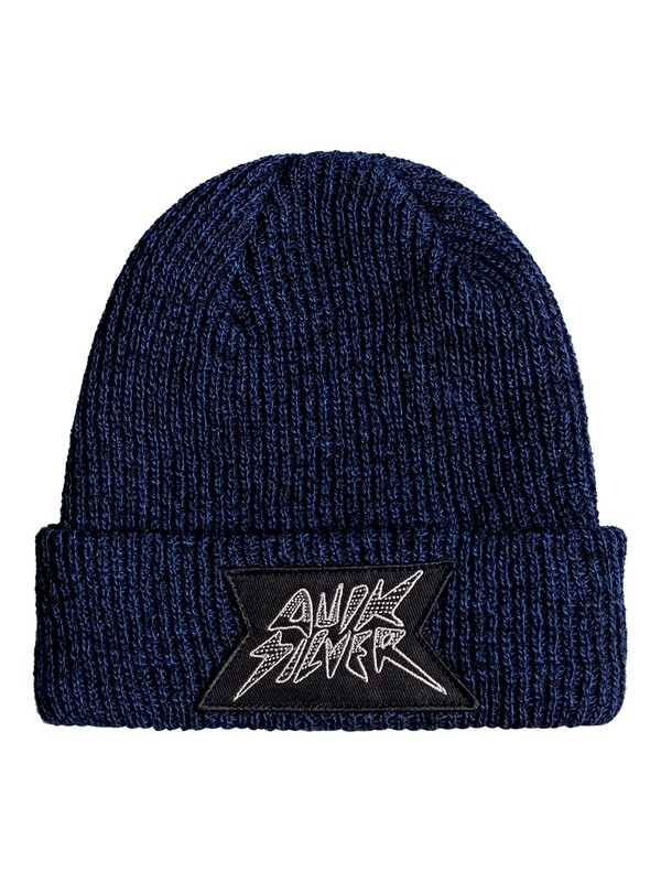 0 Performed Patch - Beanie Blue EQKHA03007 Quiksilver
