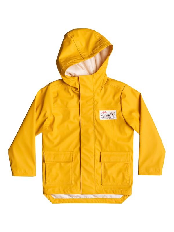 0 Deep Rain - Imperméable jaune Jaune EQKJK03070 Quiksilver