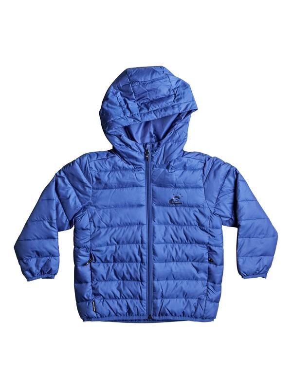 0 Scaly - Water-Repellent Puffer Jacket Blue EQKJK03076 Quiksilver