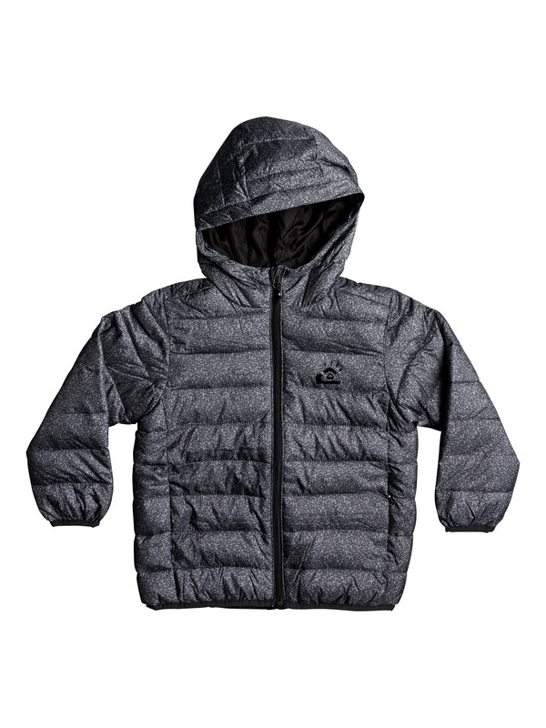 0 Scaly - Water-Repellent Puffer Jacket Black EQKJK03076 Quiksilver