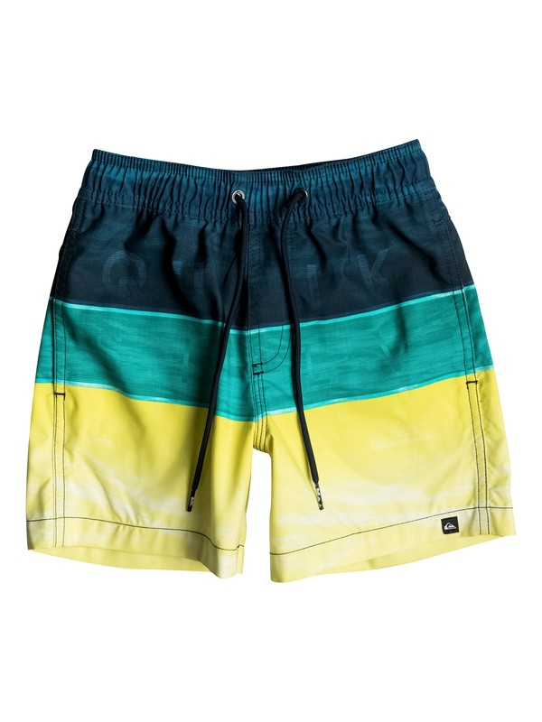 "0 Word Waves 12"" - Short de bain Bleu EQKJV03024 Quiksilver"