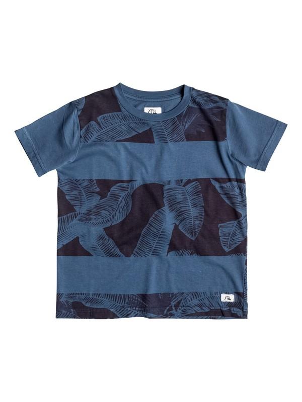 0 Blatano - T-shirt Bleu EQKKT03045 Quiksilver