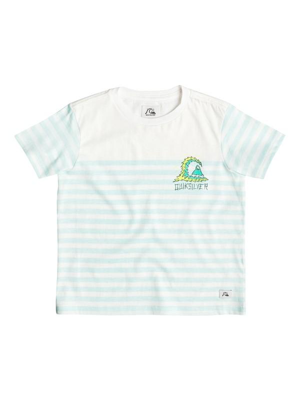 0 Storm Stripe - T-shirt Bleu EQKKT03047 Quiksilver