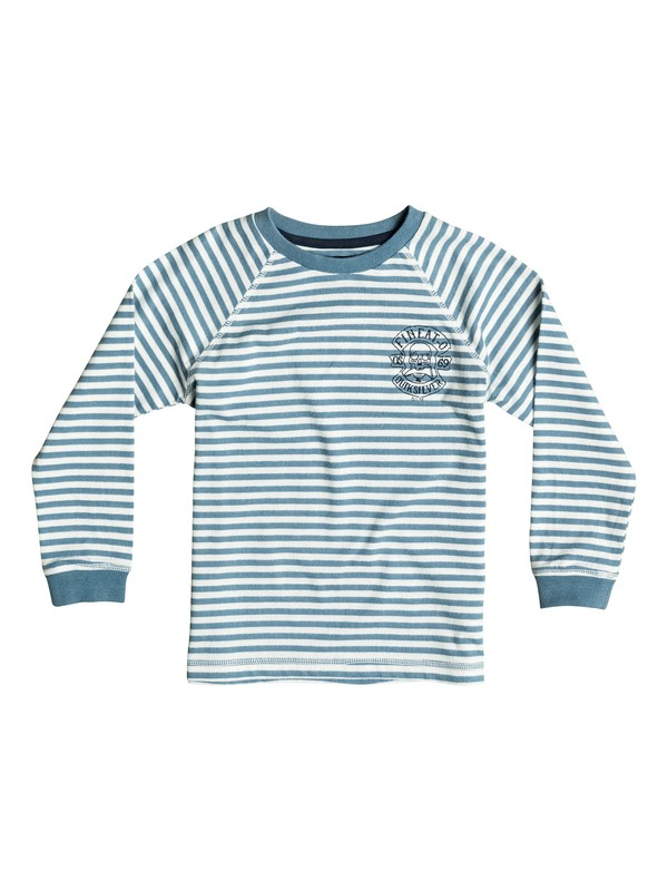 0 Fin Eat Stripe - Tee-Shirt à manches longues  EQKKT03058 Quiksilver