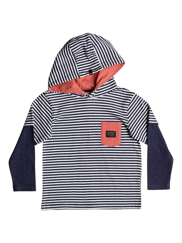 0 See You Later Stripe - Haut à capuche  EQKKT03086 Quiksilver