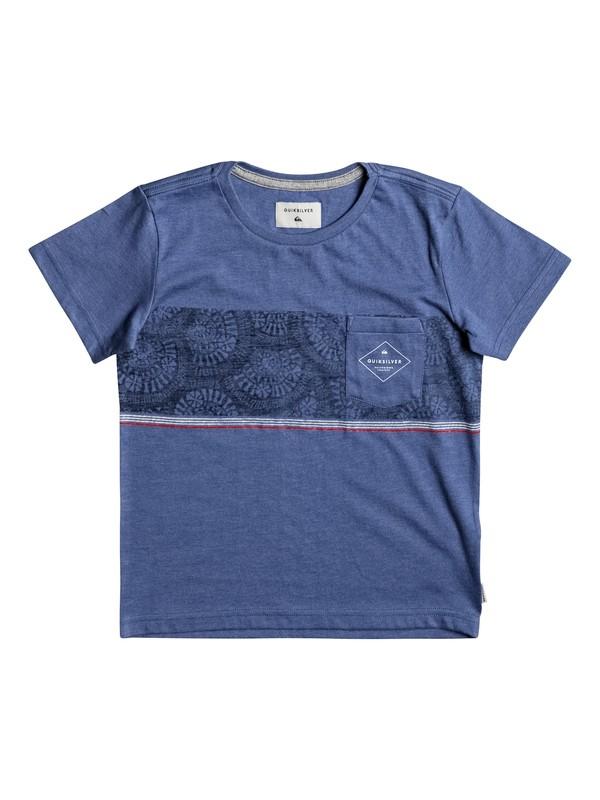 0 Tokanui - Tee-Shirt Bleu EQKKT03102 Quiksilver