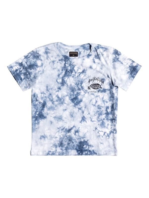 0 Mambaw - Tee-Shirt Bleu EQKKT03103 Quiksilver