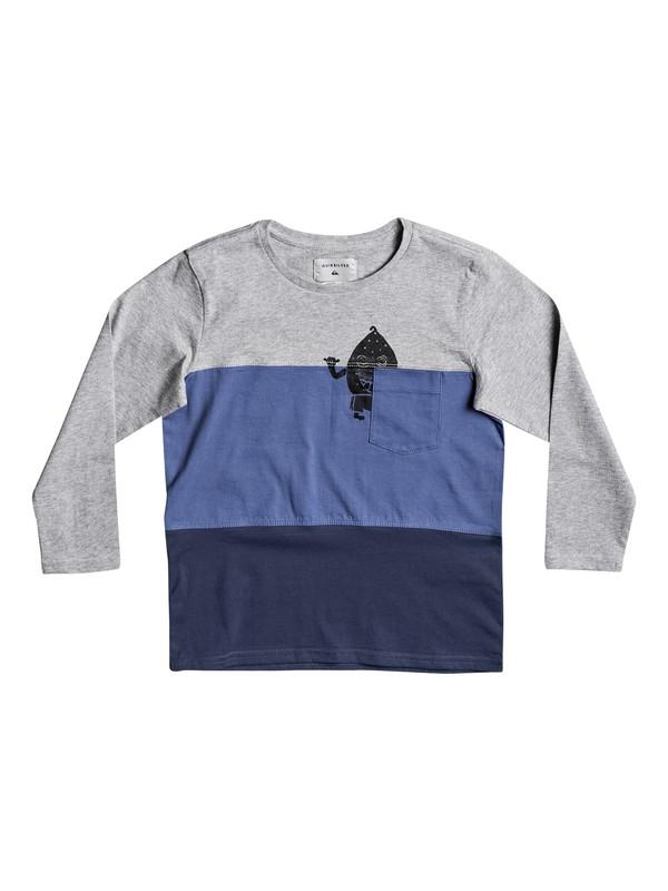 0 Konbo - Tee-Shirt à manches longues Bleu EQKKT03104 Quiksilver