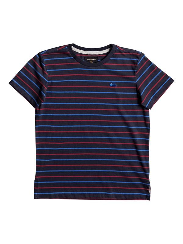 0 Lukut Stripe - Tee-Shirt  EQKKT03107 Quiksilver