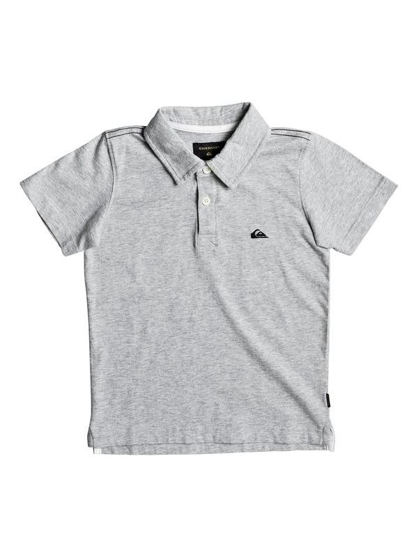 0 Boy's 2-7 Everyday Sun Cruise Polo Shirt Grey EQKKT03108 Quiksilver