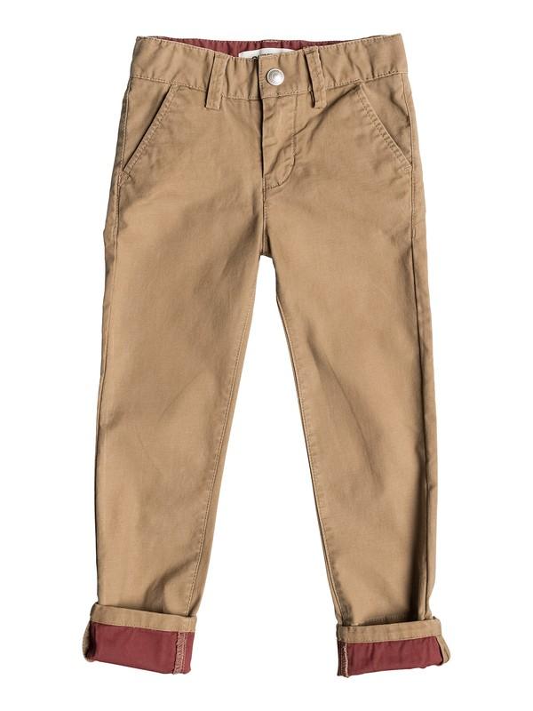 0 Krandy Block Slim - Pantalon chino  EQKNP03018 Quiksilver