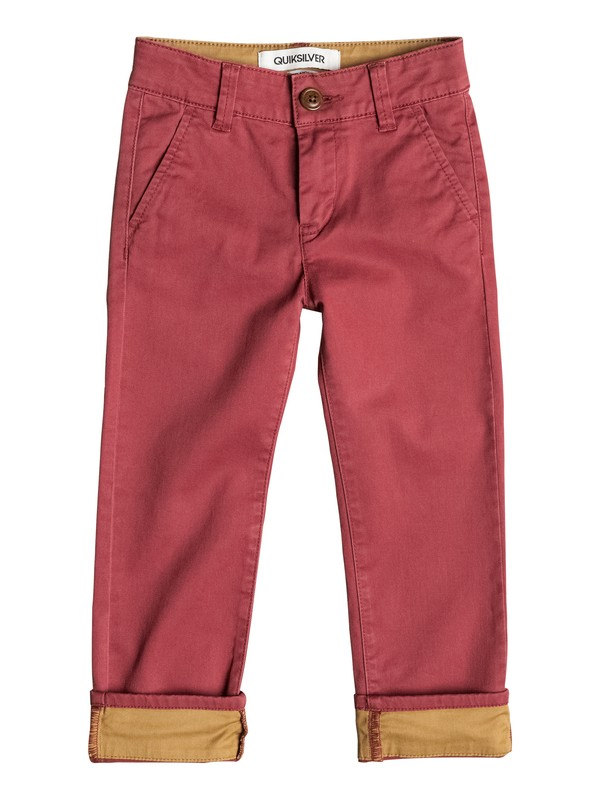 0 Krandy Straight Fit Block - Pantalon chino  EQKNP03024 Quiksilver